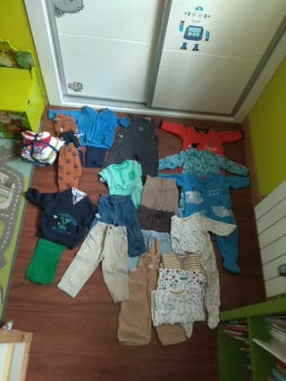lote ropa niño 80 cms (12 meses aprox)