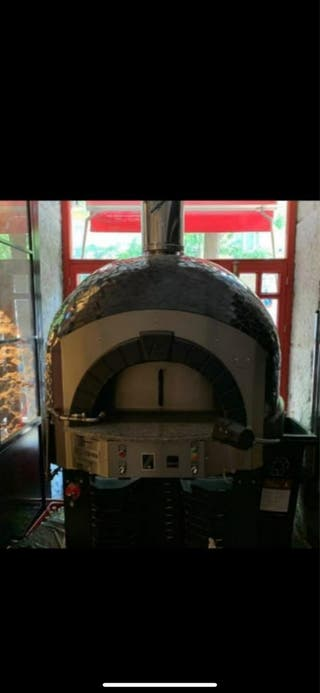 Horno de pizzas a gas