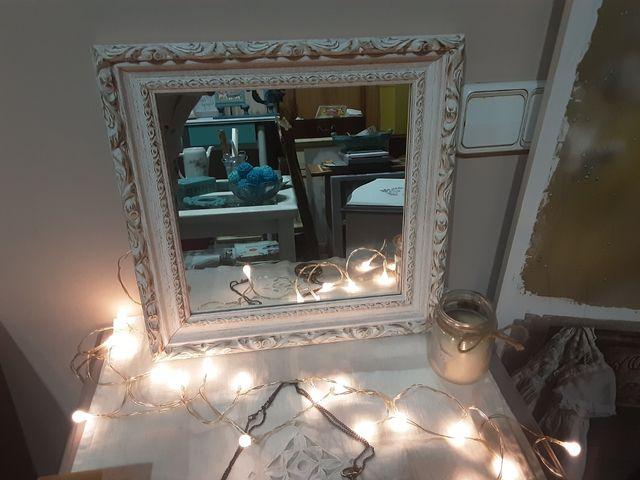 Bonito Espejo antiguo Restaurado