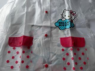 Impermeable-chubasquero Hello Kitty NUEVO