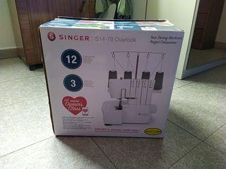 Maquina de coser OVERLOCK SINGER S14-78