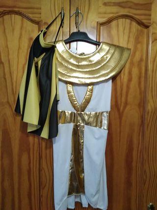 disfraz faraón