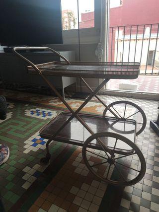 mueble auxiliar con ruedas