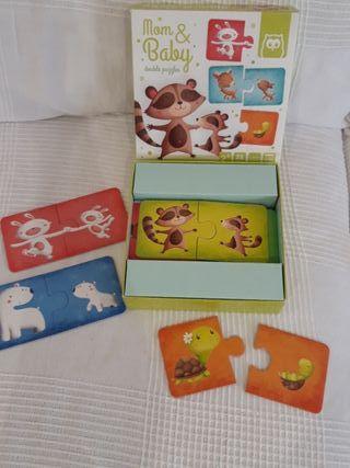 Puzzle Mamas y bebés +2años Eureka kids