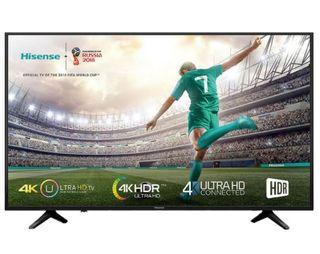 """TELEVISIÓN HISENSE 55A6100 55"""" SMART TV, 4K Y WIFI"""