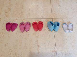 5 pares de zapatos para Nancy