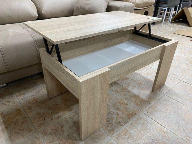 mesa de centro elevable nueva