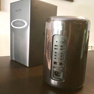 Apple Mac Pro 6.1 Xeon 6 Core 64GB RAM SSD 1TB
