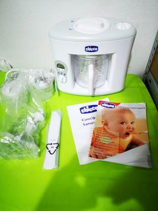 robot cocina chicco sano vapor bebes