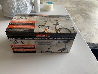 Soporte de techo electrico para bicicletas