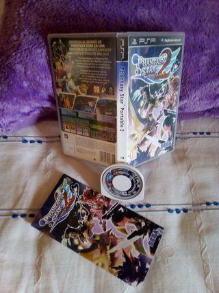 Phantasy Star 2 Portable PSP
