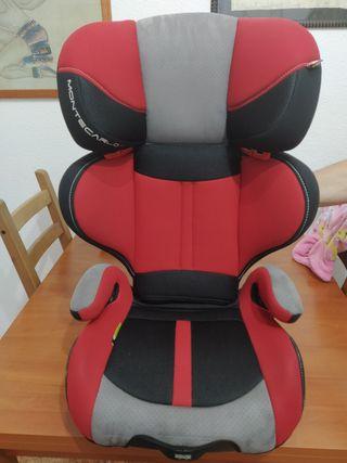 bajada de precio!silla coche Jane grupo 2-3 isofix
