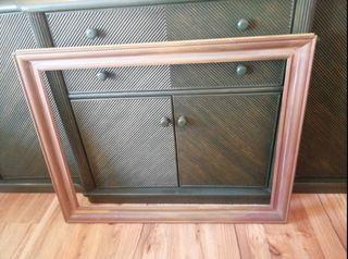 Marco de madera para lienzo de 80×60