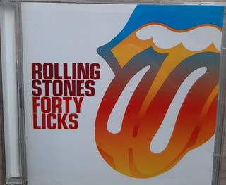 Cd ROLLING STONES. Forty Licks. 40 éxitos. 2 cds