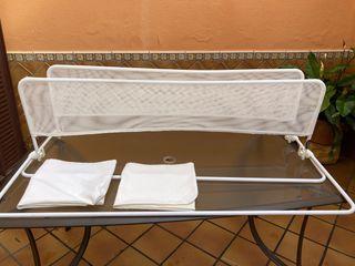 Barandilla cama bebé 2 unidades