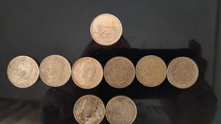 Colección monedas 100 pts, incluida año83* buscada