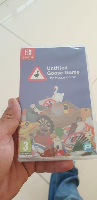 juego Nintendo switch untitled goose game