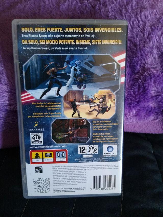 Star Wars Lethal Alliance PSP