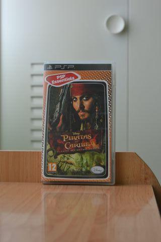 Juego Piratas del Caribe PSP