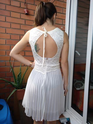 vestido elegante y romántico