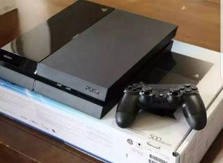 PS4 + FIFA 20 + COD + Guitar Hero