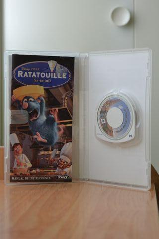 Juego Ratatouille PSP