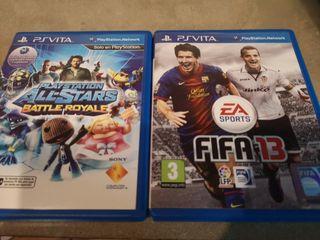 PLAYSTATION ALL-STARS BATTLE ROYALE FIFA13 PSVITA