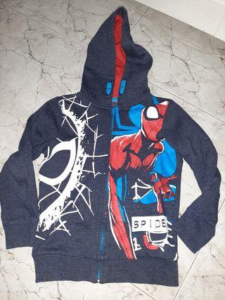 chaqueta niño spiderman