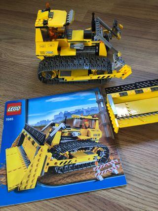Lego 7685 bulldozer excavadora