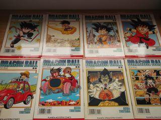 LOTE COMICS DRAGON BALL SERIE BLANCA (8 NÚMEROS)