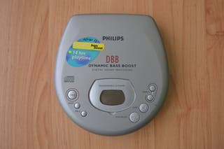 Philips AZ7181 Dynamic Bass Boost reproductor CD