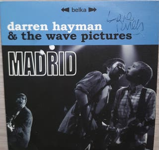 Cd DARREN HAYMAN & The WAVE PICTURES. Madrid