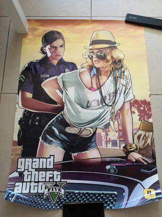 Poster Gta 5