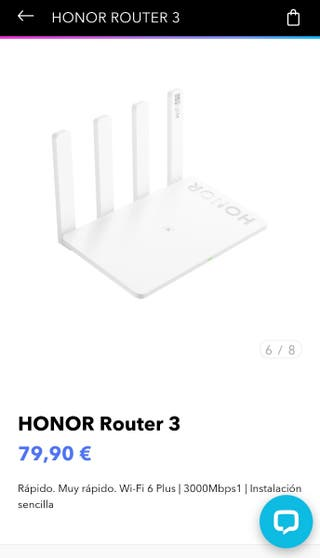 Router Honor 3 - Wifi 6+