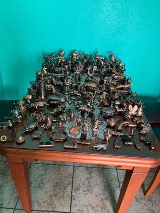 Colección de encendedores decorativos