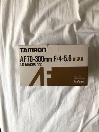Objetivo Tamron 70-300 Macro Canon