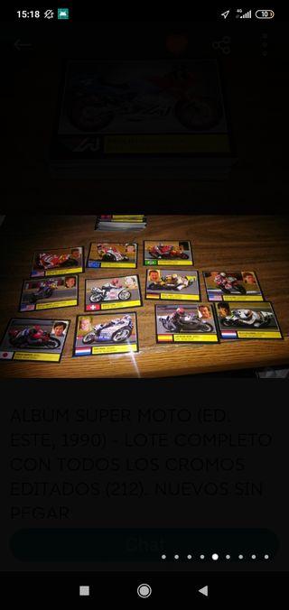 200cromos moto 1990