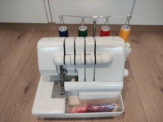 Máquina de coser (remalladora) sin estrenar