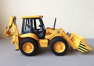 Excavadora JCB 4cx juguete
