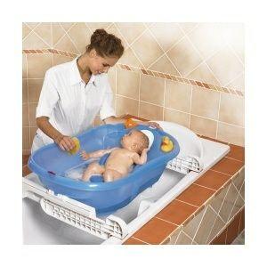 Bañera bebé Bebedue con soporte