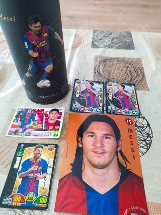 Lote cartas panini Messi adrenalyn xl