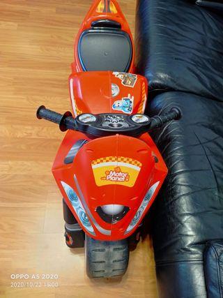 moto andarín para niños