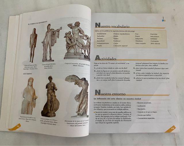 Libro Historia del arte 2° bachiller Anaya