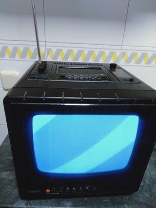 Televisión, radio y cassete Philips portátil