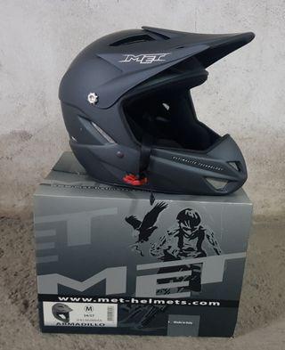 casco integral MET btt