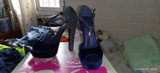 zapatos tacón Fiesta