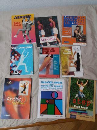 Aeróbic Step libros