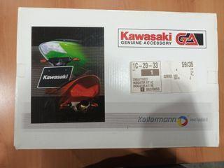 Portamatriculas con intermitentes Kawasaki