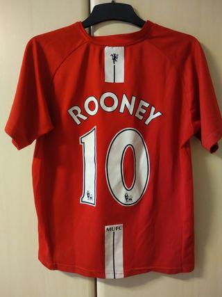 Camiseta fútbol Rooney