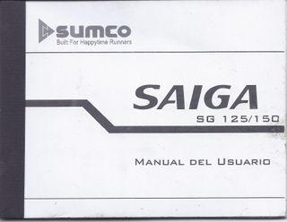 Manual usuario Sumco Saiga